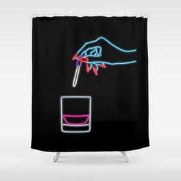 Dip n' Drip Shower Curtain