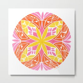Passion Fruit :: Color Therapy Collection :: Metal Print