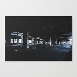 Cold Underpass Canvas Print