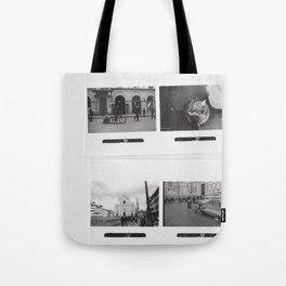 Black and White Memories Tote Bag