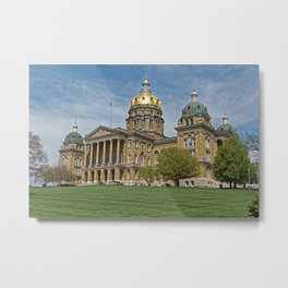 Iowa's Crown Jewel Metal Print