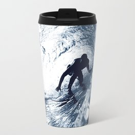 Boarding Trybe Tube, Hawaiian Surf Graphic  Travel Mug
