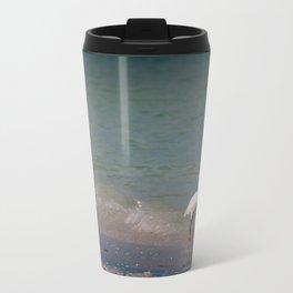 Ibis Waves - Sanibel Island, Florida Metal Travel Mug