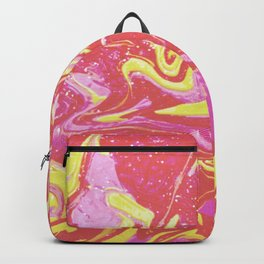 Paint Swirl One: Soleil (Hers) Backpack