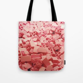 Pink LEGO's Tote Bag