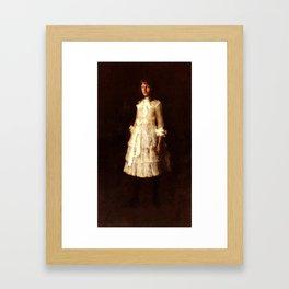 hattie-large,William Merritt Chase Framed Art Print