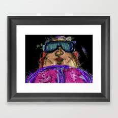 10 Framed Art Print