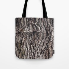 Oak tree trunk Tote Bag