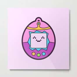 Tamago Chibi Princess Bubblegum Metal Print