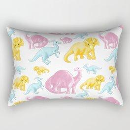 Dinosaur Pattern 2 Rectangular Pillow
