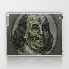 BENJAMIN FREAKLIN Laptop & iPad Skin