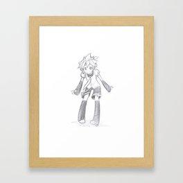 Vocaloid Len  Framed Art Print