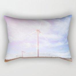 Wind Turbines 2 #ethereal Rectangular Pillow