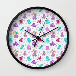 UNDER SEA PARTY Wall Clock