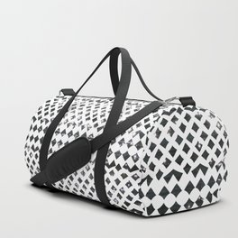 Glimmering Sea Water Mosaic Duffle Bag
