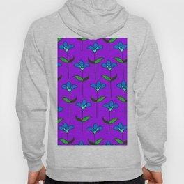 Genevieve - Purple and Blue Hoody