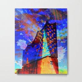 Elbphilharmonie Hamburg IV Metal Print