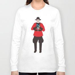 Canadian Spirit Animal Long Sleeve T-shirt
