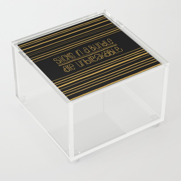 Unbreakable Acrylic Box