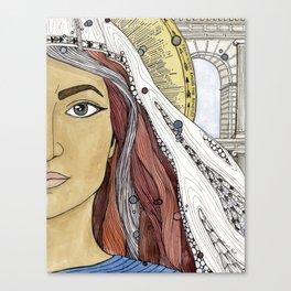 Junia Canvas Print