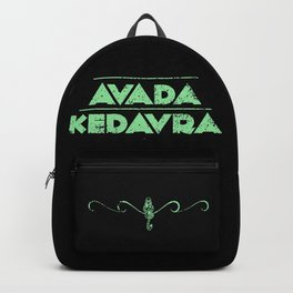Avada Kedavra Backpack