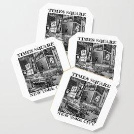 Times Square II (B&W widescreen) Coaster