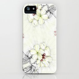 Pequi Flower iPhone Case