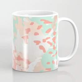 Pippa - minimal trendy gender neutral bright happy color palette nursery art Coffee Mug