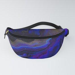 Dark Purple Blue Galaxy - Midnight Shades Fanny Pack