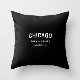 Chicago - IL, USA (Arc) Throw Pillow