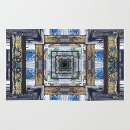 Grungy Building Rug