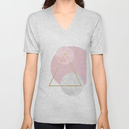 Geometric Abstract Unisex V-Neck