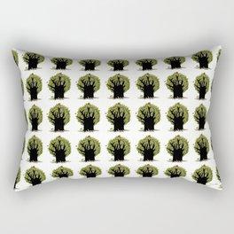 Changing tree Rectangular Pillow