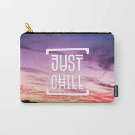 Go to the beach and... Just Chill! Carry-All Pouch