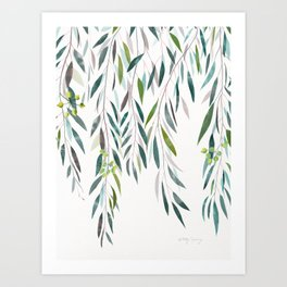 Eucalyptus Drop  Art Print