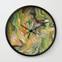 Kelpies Wall Clock