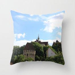 Sighisoara IV Throw Pillow