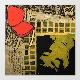 """""""everywhere"""" Canvas Print"""