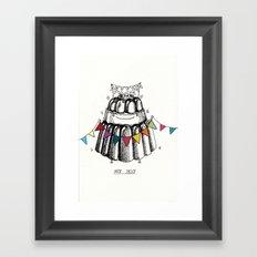Nice Jelly Framed Art Print