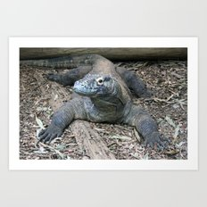 this is my good side. Art Print
