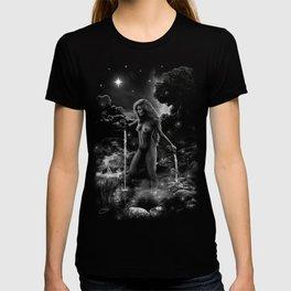 XVII. The Star Tarot Card Illustration T-shirt