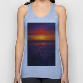 Sunrise in the Vortex Unisex Tank Top