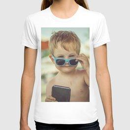 Little boss on the beach T-shirt