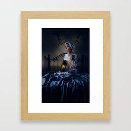 Little Night Fright Framed Art Print