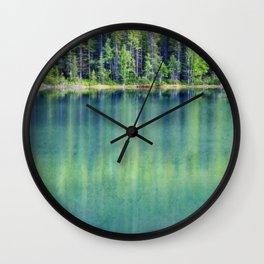 Deep Down Wall Clock