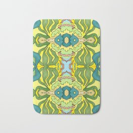 Lettuce Bloom Kaleidoscope Bath Mat