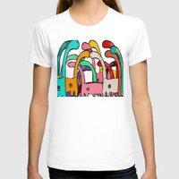 disco T-shirts featuring Dino Disco by bri.buckley