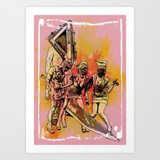 Silent Thrill Art Print