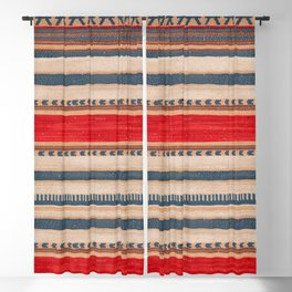 N66 - Classic Oriental Moroccan Style Fabric. Blackout Curtain