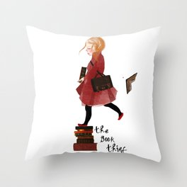 """Homage to """"The Book Thief"""" Throw Pillow"""